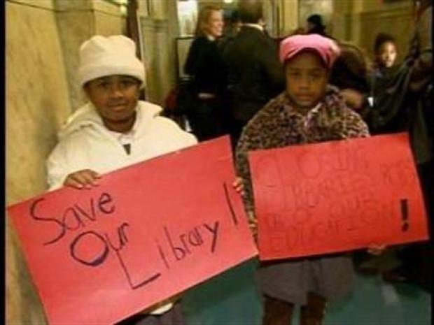 [PHI] Kids Fight to Save Library from Budget Cuts