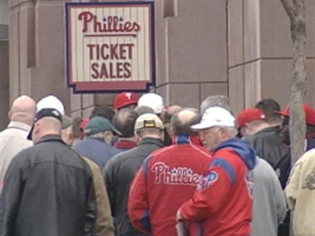 [PHI] Phils Phans Buy Up Single Game Tickets
