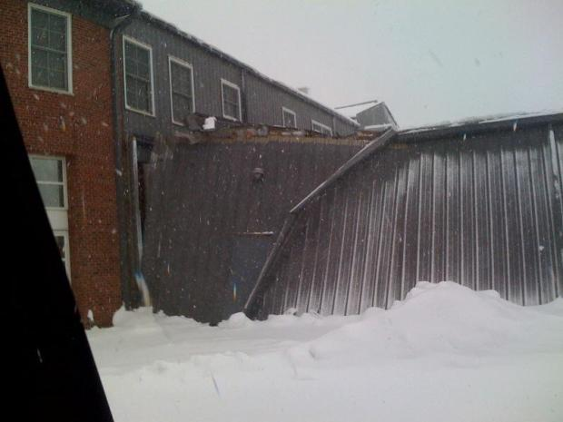 Images: Firehouse Roof Collapses Under Heavy Snow
