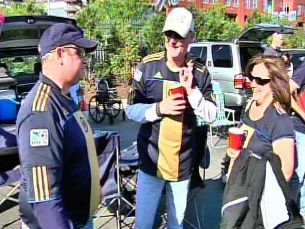 [PHI] Tailgaters Gather for Union's First Home Game