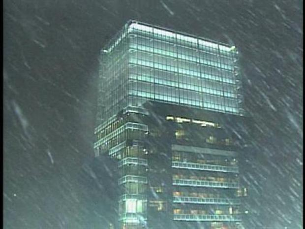 [PHI] Snowing at Comcast Center