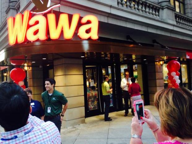 New Flagship Wawa Opens in Center City