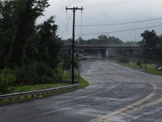 [HAR] Storm Causes Damage in Windsor Locks