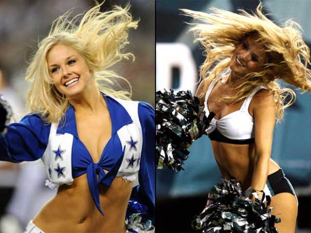 [Phi] Who's Hotter? Eagles or Cowboys Cheerleaders?