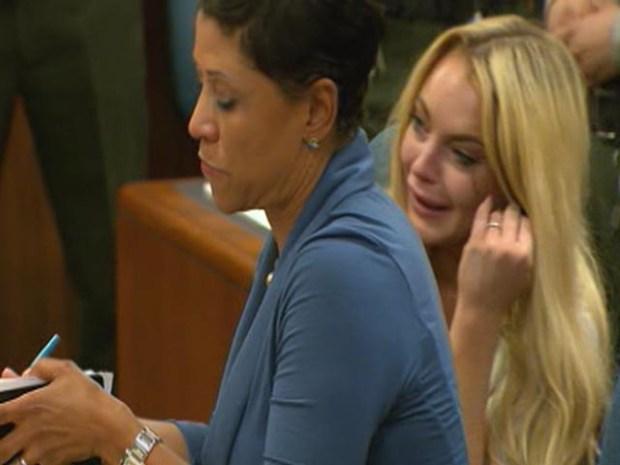 [LA] Raw Video: Lindsay Lohan Sentenced