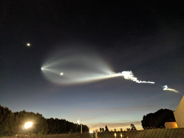 [NATL-la gallery] Photos: Stunning SpaceX Rocket Launch as Seen From Around Southern California
