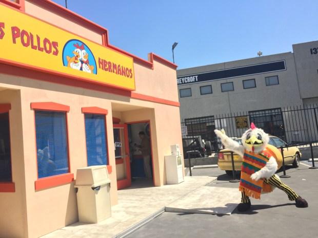 [NATL-LA] Go Inside: Photos of 'Breaking Bad' Los Pollos Hermanos Pop-Up Restaurant