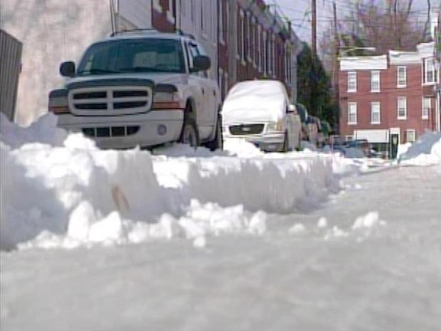 [PHI] Snow: Side Streets Still Packed With Snow