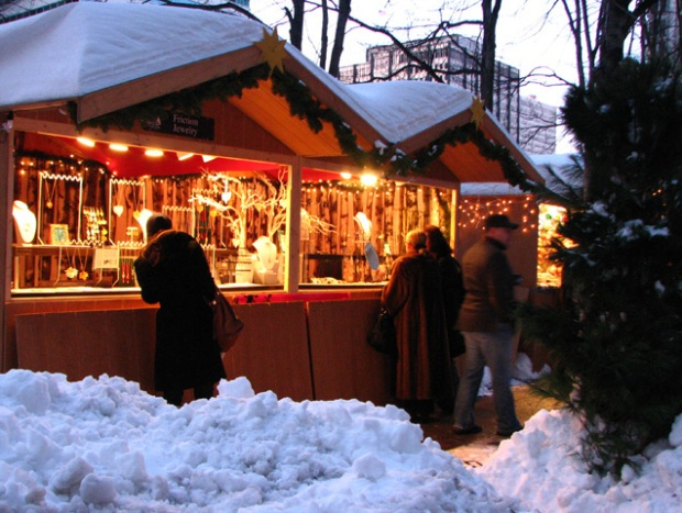 Pics: Christmas Village in Philadelphia