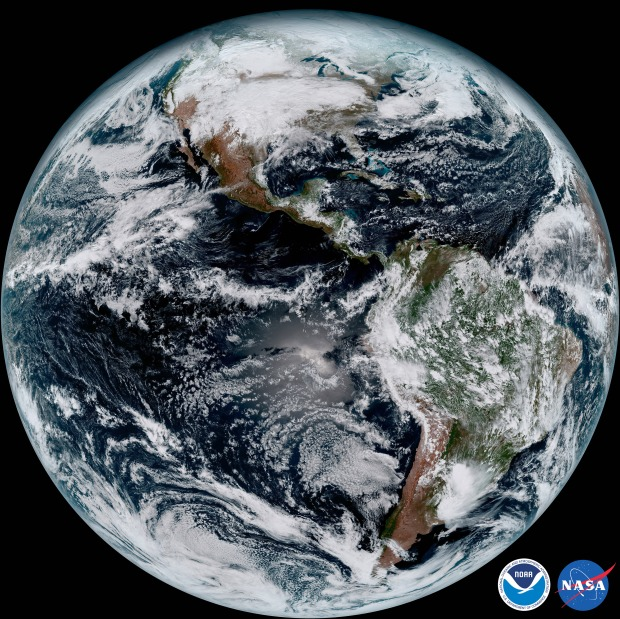 Stunning First Images From New Weather Satellite