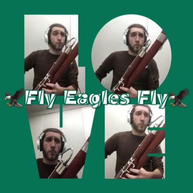 'Fly, Eagles Fly' for Jazz Bassoon Quartet