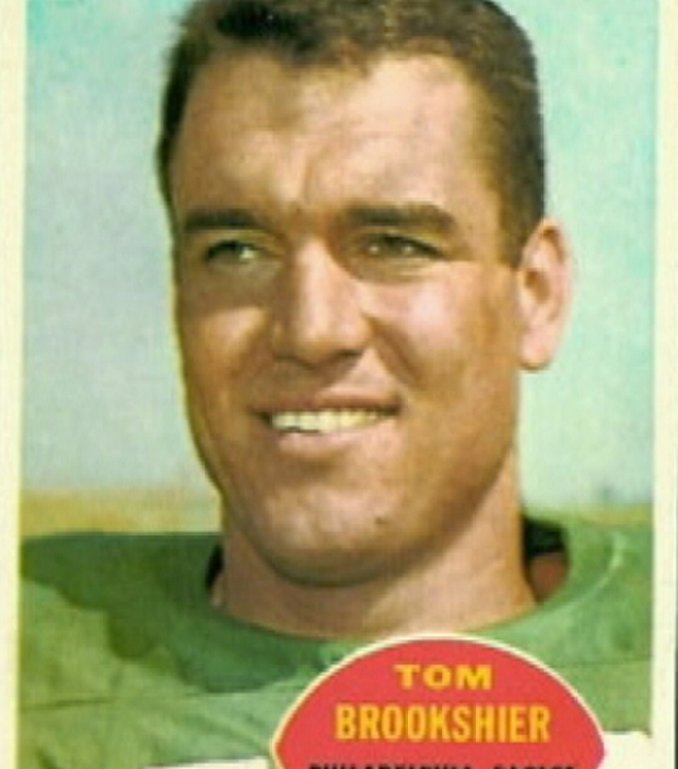 Tom Brookshier Through the Years