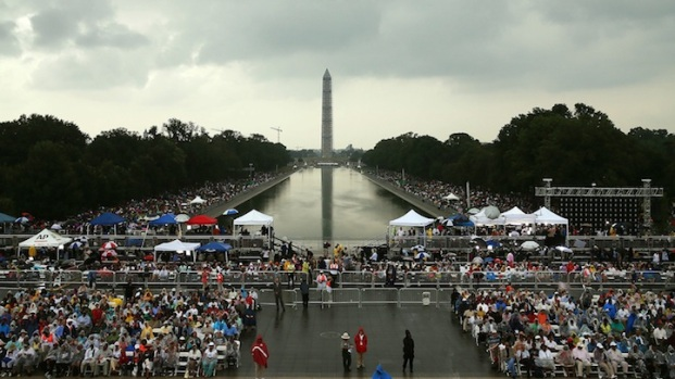 [DC] Tens of Thousands on Mall for March on Washington 50th Anniversary