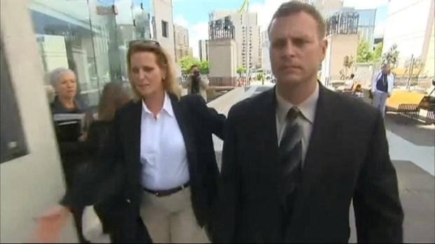 [DC] RAW VIDEO: USAF Lt. Col. Arrives at Arlington Co. District Court