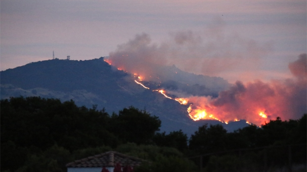 [BAY] Mt. Diablo Fire Downgraded to 3,200 Acres, 45 Percent Contained