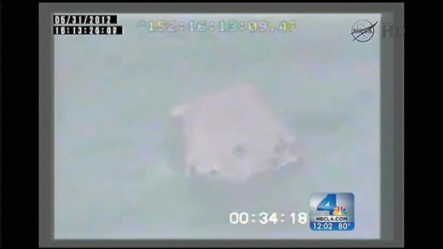 [LA] SpaceX Dragon Splashes Down Off California