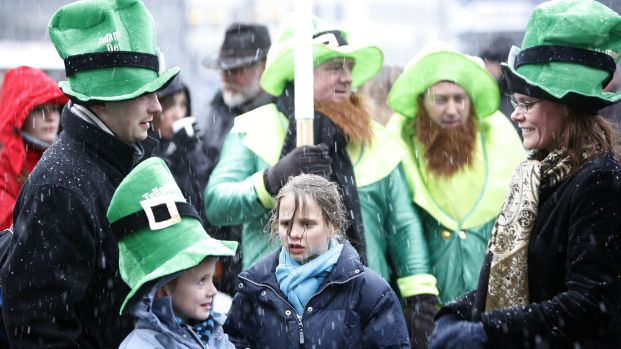 St. Paddy's Day Snow: Timeline, Totals