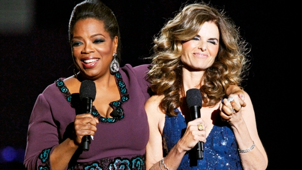 Stars Crowd Oprah's Stage For Final Show