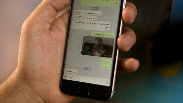 [NATL] Encrypted Apps Help ISIS Sell Sex Slaves