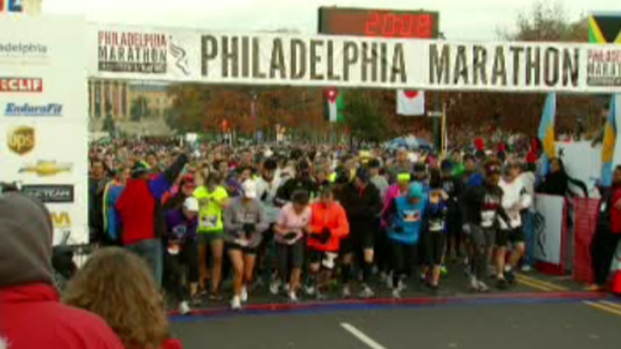 [PHI] Thousands Compete in Philly Marathon