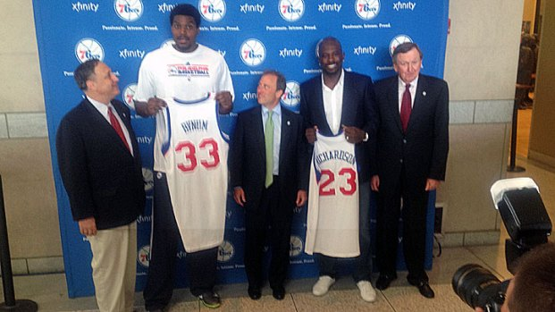 Bynum, Richardson Enter Sixers Nation