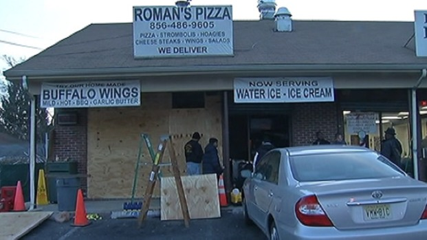 [PHI] Hit-and-Run Driver Slams Into Pizza Shop Twice