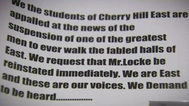 Cherry Hill Students to Protest Suspension of Teacher Who Spoke on School Shooting Security