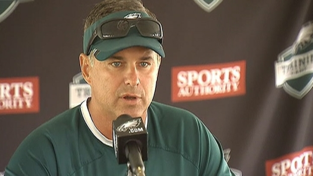 [PHI] Raw Video: Eagles Trainer Talks Patterson Condition