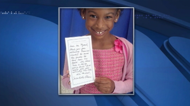 [PHI] First Lady Writes 1st Grader an Excuse Note