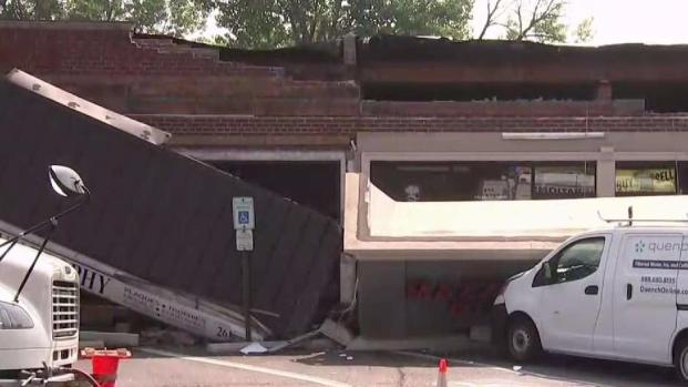 Mall Facade Collapses In New Jersey Trapping Workers And