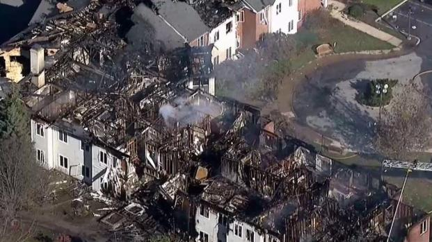 SkyForce10 Surveys Fire Damage to Senior-Living Home