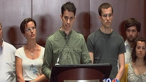 [PHI] Freed Hikers Speak Out