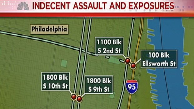 [PHI] South Philly Flasher Assaults 4 Women: Cops