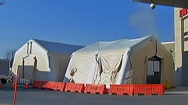 [PHI] Hospital Uses Triage Tents to Battle Flu Bug