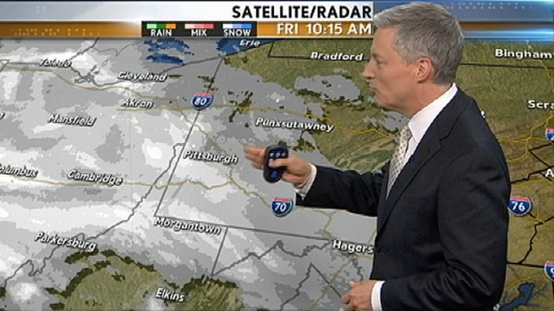 [PHI] Snowfall Moving Through Pa.