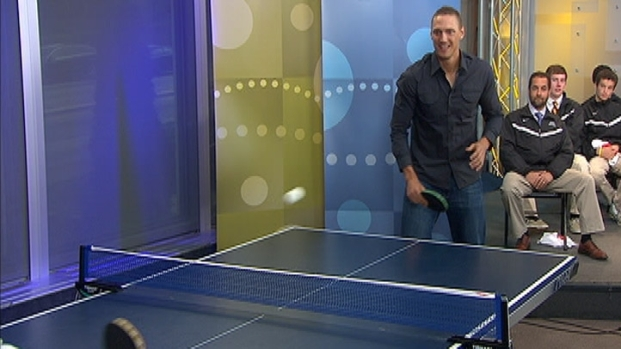 [PHI] Pence Plays Table Tennis