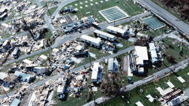 Hurricane Andrew slammed into south Florida 25 years ago
