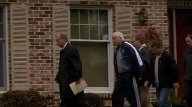 [PHI] Jerry Sandusky Handcuffed and Led From His Home