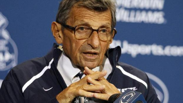 [PHI] Joe Paterno Will Only Answer Football Questions on Tuesday