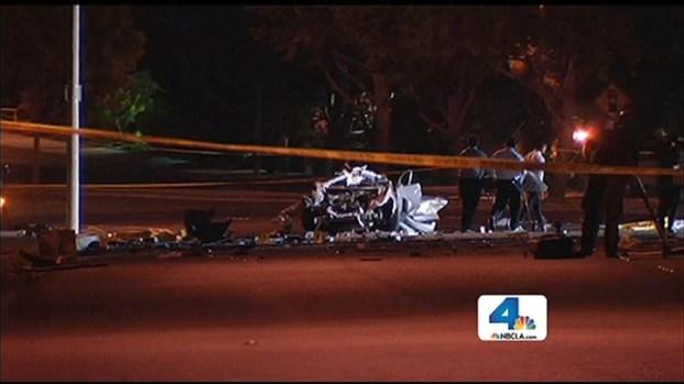 [LA] Five Killed in Fiery Crash in Newport Beach