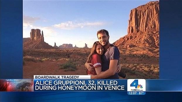[LA] Family of Newlywed Killed in Boardwalk Crash Awaits Autopsy