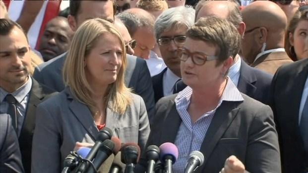 [BAY] RAW VIDEO: Prop 8 Plaintiffs React to Supreme Court Ruling