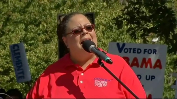 "[CHI] Karen Lewis' ""Solidarity Rally"" Speech"