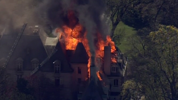 [PHI] Video of Main Line Mansion Fire