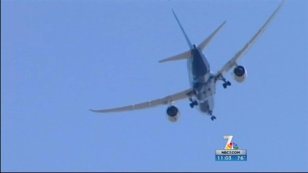 Diverted Dreamliner Causes SD Delay