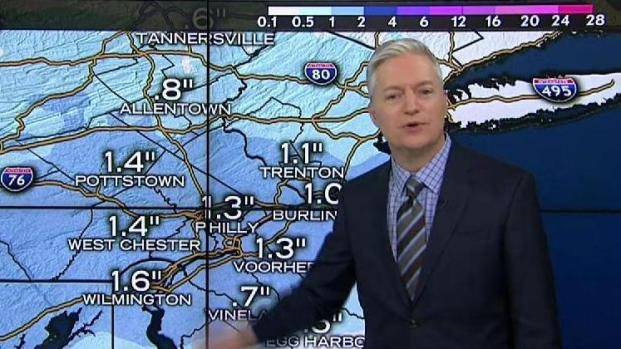 NBC10 First Alert Weather: Snow Ahead