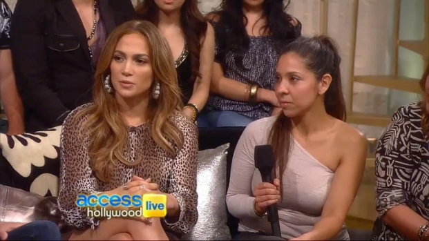 [NATL] Jennifer Lopez Sits Down For Fan Q&A
