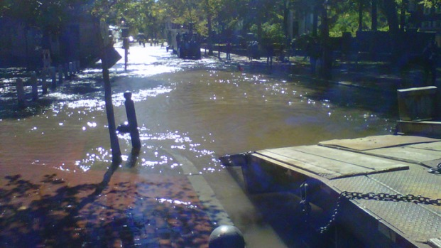 Photos: Old City Water Main Break