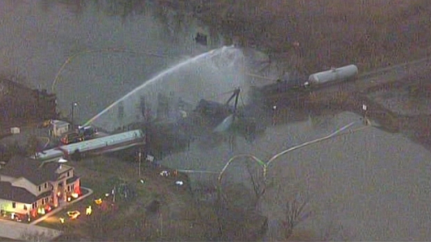 [PHI] Residents Evacuated Around Train Derailment