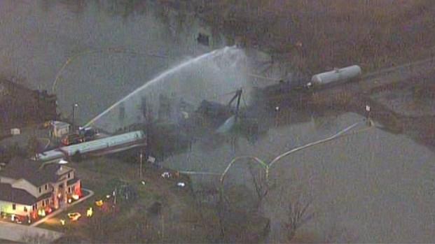 [PHI] Residents Evacuated Around Train Derailment